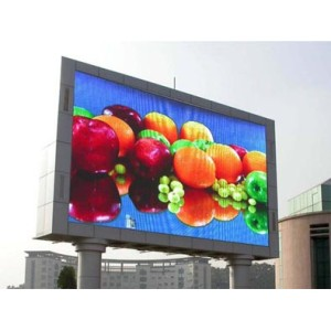 Outdoor P16mm Double Column Advertising LED Display
