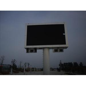 Outdoor Advertising LED Display for Column Application