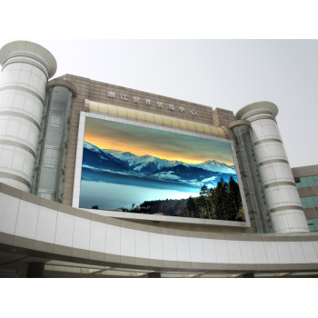 Outdoor P20mm Advertising LED Display for wall mounted application