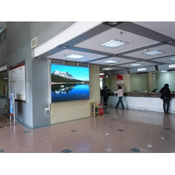 P8mm Indoor Advertising LED Display video wall mounted