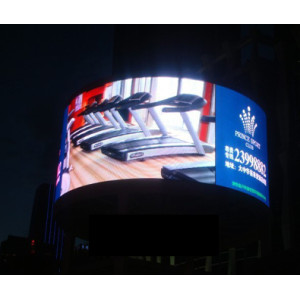 360 degree Hanging Rental LED Display Screen in Shopping Mall
