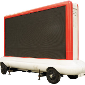 Trailer LED Display Screen for Outdoor Advertising