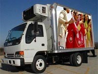 Truck Mobile LED Display Advertising double sides