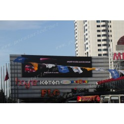 Turkey Wall mounted LED Billboard Screen for Advertising