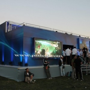 Chile outdoor led Display Screen for Advertising Playstation show