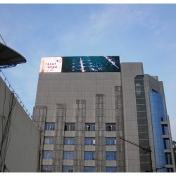 P40mm Outdoor Strip LED Display for Advertising Building