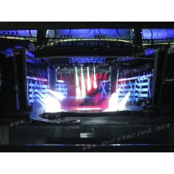 P20mm 106sqm Outdoor Curtain Mesh Stage LED Display Screen