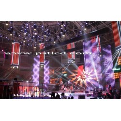 49.66sqm P6 Slim Rental LED Displays for Concert living Broadcasting
