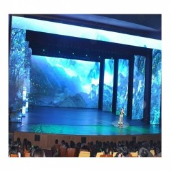 P12.5mm Indoor Curtain Mesh Rental LED Display
