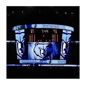 P20mm Advertising LED Display for Basketball Stadium