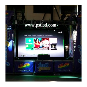 P6mm Outdoor Rental LED Display Screen by Slim utra thin design