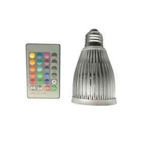 E27 4W LED Spot Light Remote Control