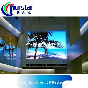 Pantalla LED commercial para interior