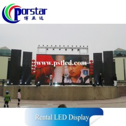 P10mm SMD Ultra-Thin Slim Rental LED Display for Outdoor