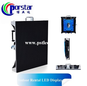 P4mm Black LED Indoor Die casting Rental LED Display