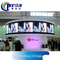 circle led display screen P5mm indoor circle advertising led display