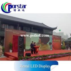 Pantalla LED para alquiler Exterior