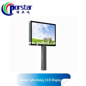 P12mm Single Column  Publicidad Pantalla LED