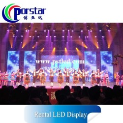 P20.83mm SMD5050 Full Strip Stage LED Display Screen