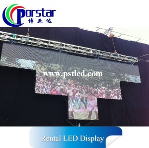 P5.2mm Outdoor LED Screens led video wall tv board for rental led display