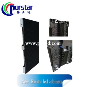 indoor rental full color die casting led display
