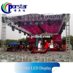 high resolution advertising rental led screen