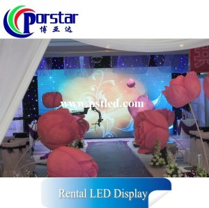 HD LED Video Rental slim led screens
