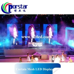 led sign board P6.944mm indoor Curtain led screen