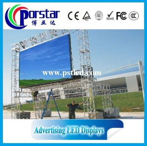Outdoor waterproof advertising led display