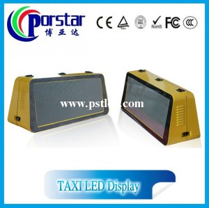 P4mm taxi top led display