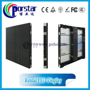 P10 Rental led screen movable stage LED display