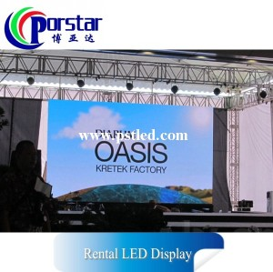 P4mm outdoor rental led display