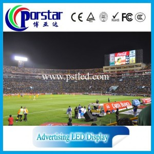 Playground led scoreboard/full color rental led scoreboard
