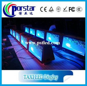 Taxi led display sign texi led board