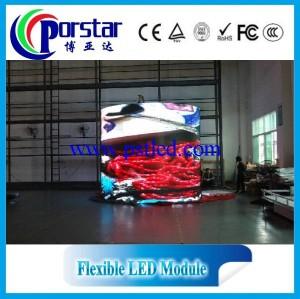 flexible led curtain screen