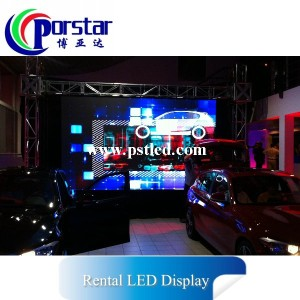Indoor full color rental led display P4.8mm