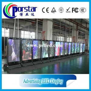 79''Full color HD indoor advertising led tv display