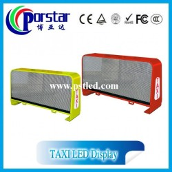3G wireless taxi top advertising light box