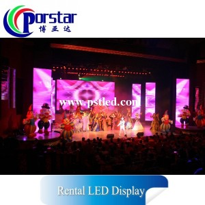 outdoor flexible led display for rental