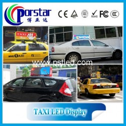 Taxi advertising led display screen