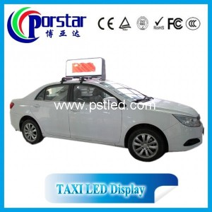 wireless taxi led sign board