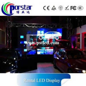HD Large TV Show Background Rental Led Video Wall Screen