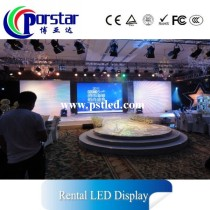 super slim high definition rental led display