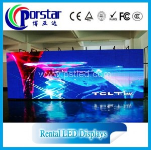 digital signage solutions for indoor led large screen display
