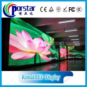 Full color HD rental led display screen