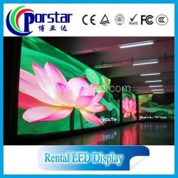 Full color HD rental led display screen