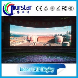 indoor full color led commercial advertising display screen