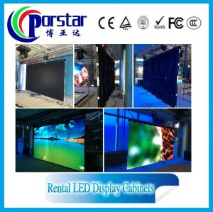p5.95mm china indoor hd rental led display