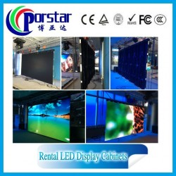 p5.95mm china indoor hd rental led display