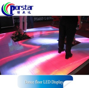 indoor full color dance floor led display